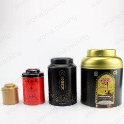 Accueil de gros de produits métalliques de grande taille de stockage de boîtes de conserve pour le thé