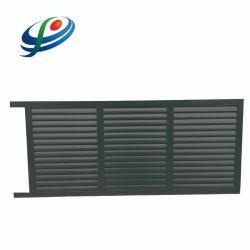 De tamaño personalizado de aluminio exterior puerta corrediza automática de entrada principal