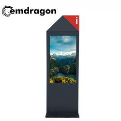 3D-LCD-Anzeige-Bildschirm, 55 Zoll, luftgekühlter Vertikaler Bildschirm, Boden, ultraflache Außenwerbung, LED, Digital Signage, CCTV-LCD-Monitor