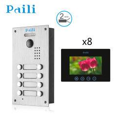 Bâtiment système Intercom vidéo numérique porte filaire Bell
