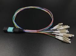 Ponticello per fibra ottica MTP/MPO-LC multimodale Fanout multicore 0,9 mm