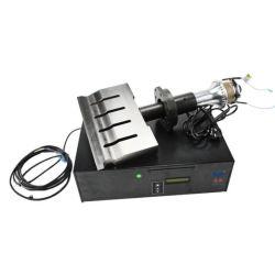 15kHz de la máquina de soldadura por ultrasonidos accesorios de soldadura con el transductor y la máscara de cuerno de la máquina