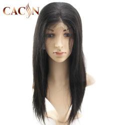 Bon marché de gros de qualité supérieure à 100 % perruque de cheveux brésiliens de l'homme