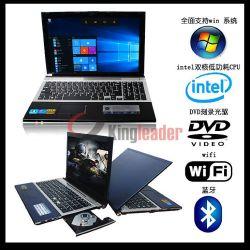 LED de 15,6 pouces HD N3510 quatre coeurs Intel Pentium 2,0 GHZ Windows10 portable avec lecteur de DVD-RW et de 4 Go/500GO (Q156j)