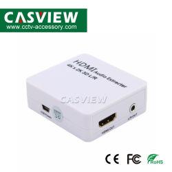 Mini HDMI a HDMI+Audio Converter No hay necesidad de instalar el controlador, portátil, flexible, Plug and Play Accesorios CCTV Audio Extractor