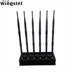 Высокое качество мобильного телефона Jammer valve 6 антенны с WiFi2.4G 5.8g/GPS