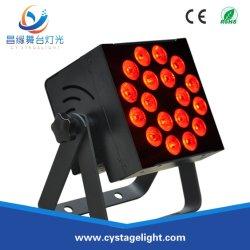 LEDの同価は18*10W RGBW 4in1の段階またはディスコまたは結婚式LEDの同価の照明できる