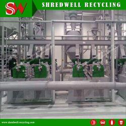 寸断するゴム製粉のための機械装置をリサイクルする自動スクラップまたは使用されるか、または不用なタイヤ