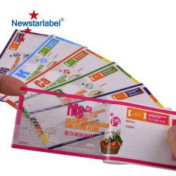 Le papier des étiquettes autoadhésives matériau écologique
