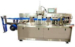 4 côtés du joint automatique Un sur deux lingette humide lingettes humides de décisions de la machine Machine d'emballage