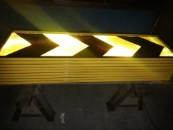 Material Refletor Direito o tráfego de borda em caixa/ Rua/ Sinais de segurança