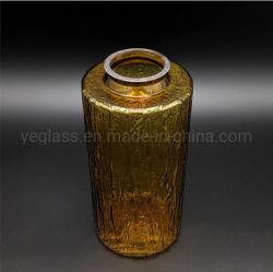 L'ambre Lampe en verre soufflé à la main de l'ombre
