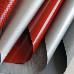 Tipo de hilados de fibra de vidrio recubierto de silicona de un paño de tela, sílice un paño de tela de la soldadura
