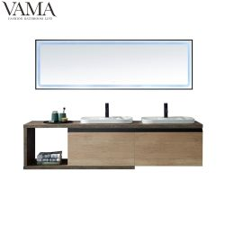 Vama 2m 호텔 LED 빛 777079로 놓이는 잘 고정된 내각 두 배 물동이 목욕탕