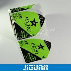 Druk van de Sticker van de douane de Zelfklevende om de CirkelSticker van het Etiket van het Voedsel