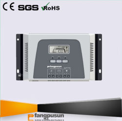 * 2019 Nouveau Fangpusun Chine MPPT 12V 24V la tension nominale 30d'un chargeur de batterie solaire Affichage LCD du contrôleur avec le WiFi