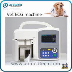 Veterinário Portátil Digital três canais máquina de ECG eletrocardiógrafo
