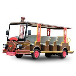 أفضل سعر لحافلة مشاهدة المعالم الكهربائية لـ14 راكب أتوبيس سياحي بأربع عجلات حافلة مكوكية (DN-14B)