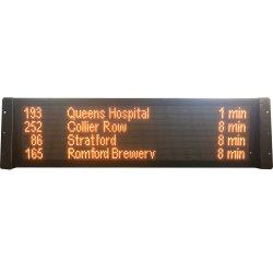 48x144 points 4 lignes écran Arrêt de Bus d'affichage à LED