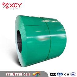 High Quality طلاء مسبق الألوان Coated Steel Coil PPGI PPGL مغلفنة فولاذ لأوراق السقف