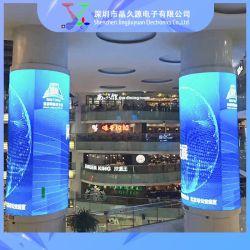 Flexibele Zachte LEIDENE Cilindrische LEIDENE van de Vertoning P2.5 Cilindrische VideoVertoning 360 van het Scherm het LEIDENE Scherm