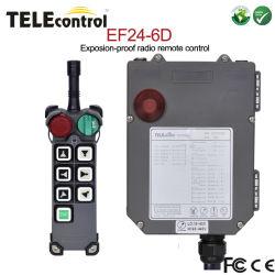 EF24-6D 6 pulsanti a doppia velocità telecomando radio a prova di esplosione Centralina
