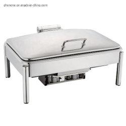 Shenone Luxury のステンレススチール製のビュッフェスタイルのストーブ、ラウンド・フィングディッシュ ホテルとレストランの備品