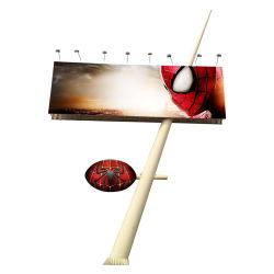 Visualizzazione di LED esterna di P4.81 Nationstar SMD, alluminio 1000*1000/schermo d'acciaio