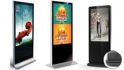 43 49 55-дюймовый напольные сенсорный ЖК-экран цифровой дисплей для рекламы
