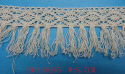 Kledingtoebehoren Viscose Woven Borduursel Vaas Crochet 30mm 40mm 50mm 3.0cm 5.0cm Trim Purfle Fabric Trimming Fashion Lace Tassel Katoenen veter