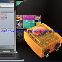 Sunlite 1과 Sunlite 좋은 2 USB DMX 512 관제사 풀그릴 가벼운 관제사