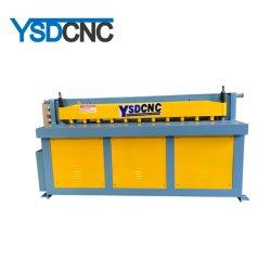 Mecánica Eléctrica de la esquila de lámina metálica de la máquina cortadora/ Placa motorizados de la cizalla guillotina Máquina de corte