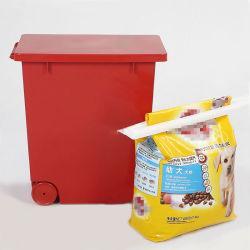 Sellado de plástico PET de harina de cereales de comida para bebés de azúcar en alimentos horneados café, té, contenedor de almacenamiento de alimentos para perros Caja de arroz, 20L