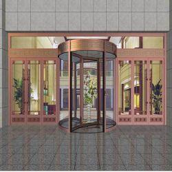 Puerta giratoria automática compacta Puertas Automáticas puertas giratorias