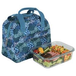 Kind-Mittagessen-Beutel Isolierkühlvorrichtung sackt kleiner Mittagessen-Beutelminitote-Beutel mit dem geschlossenen Reißverschluss, Drucken-Oxford-Mittagessen-Beutel ein