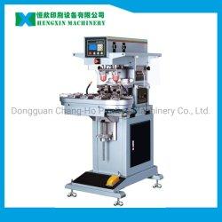 Máquina de impresión de la Copa sellada Tampo pad de 2 colores de la impresora para imprimir en las tapas de botella (P2/CK)