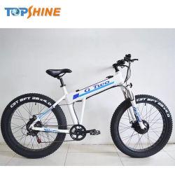 Kreuzfahrt-fetter Gummireifen-elektrisches Fahrrad mit dem Pedal, das System unterstützt