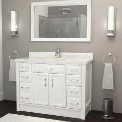 Armário de espelho de aço inoxidável para armário de casa de banho de PVC