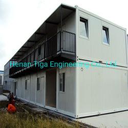 20FT China Behälter-lebendes modulares Haus/Flachgehäuse-Fertigbehälter-Haus