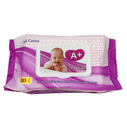 Fabricante OEM Non-Woven orgánica bebé tejidos las toallitas húmedas agua purificada