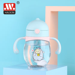 Tritan Silicone를 가진 플라스틱 Bebe Feeder Plastic Baby Feeding Bottle
