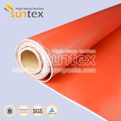 Hittebestendige stof met siliconencoating glasvezelweefsel Thermisch isolatiemateriaal