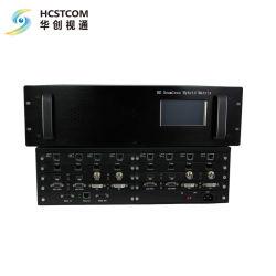 비디오 월 프로세서를 사용하는 매끄러운 하이브리드 오디오 비디오 스위치 라우터 기능