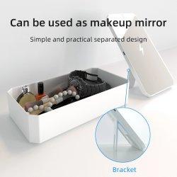 Ce/FCC luz UV LED 10W de desinfección de la Caja de esterilización cargador inalámbrico Teléfono higienizador luz UV Esterilizador UV de la bolsa de esterilización UVC Box