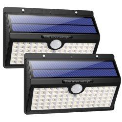 O Movimento Solar Luz do Sensor Piscina super brilhante Sensor Solar Solares acende a luz de parede LED 78
