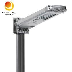 통합형 태양열 LED가 있는 거리 조명 10W 실외 방수 Lampara Solar LED 외관