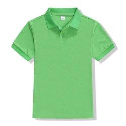 아이들을%s 간단한 도매 고품질 평야 폴로 셔츠