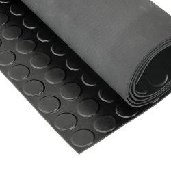 De hete RubberMat van het Patroon van het Muntstuk van de Dikte van Verkoop Industriële 310mm met het RubberBlad van de Garage van het Ontwerp van de Stuiver