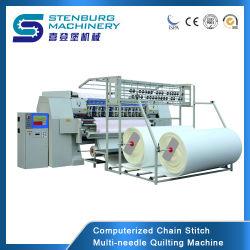 Máquina de costura Quilting Automática Multineedle Agulha Máquina Quilting várias funções de Edição Rápida