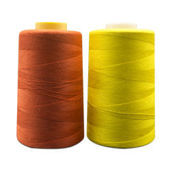 Poliéster suave hilo de coser para la tela de forro polar